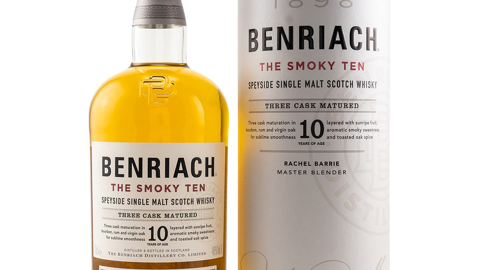 Benriach 10 y.o. - The Smoky Ten Vorderseite