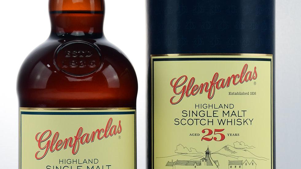 Glenfarclas 25 Jahre Vorderseite