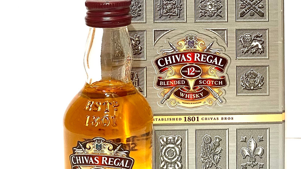 Chivas Regal 12 Jahre Miniatur