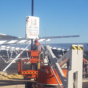East Point Mall Carports 1008KW