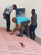 roof tile installations
