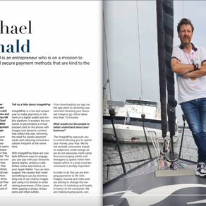Our CEO, Michael, in Relentless Magazine