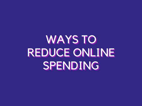 How to Reduce your Online Spending?
