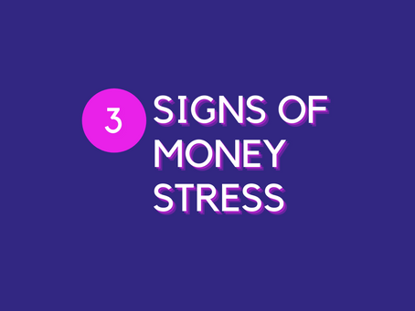 Money Stress: How to Spot the Signs