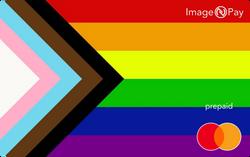 ImageNPay and LGBTQ+ digital prepaid card image