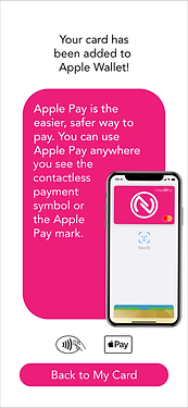 ImageNPay ready to use anywhere displaying the Apple Pay contactless payment mark