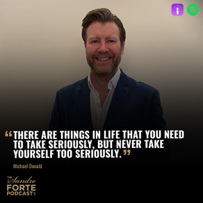 Our CEO, Michael, on The Sandro Forte Podcast