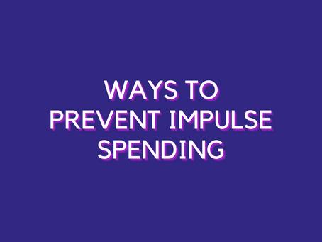 Healthy Money Habits: How To Prevent Impulse Spending?