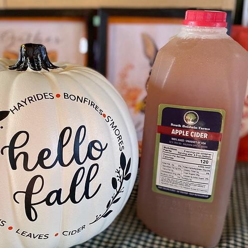 South Baldwin Farms Apple Cider