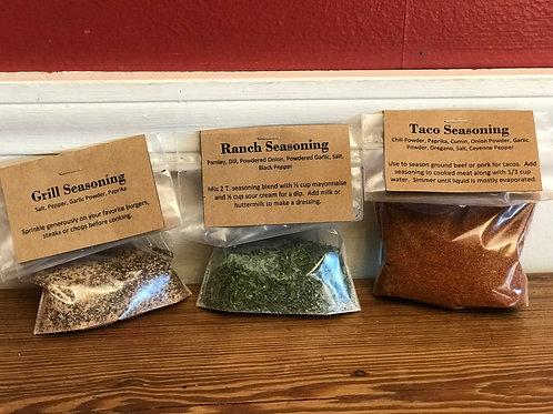 Bagged Seasoning Blends