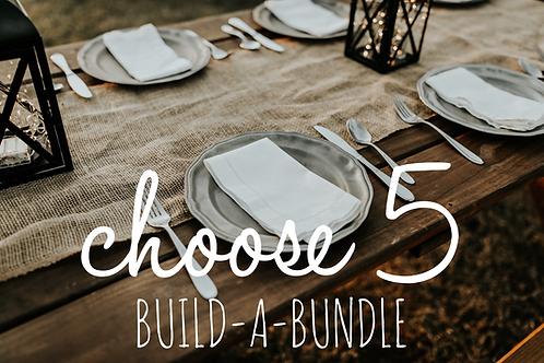 Choose 5 Build-a-Bundle