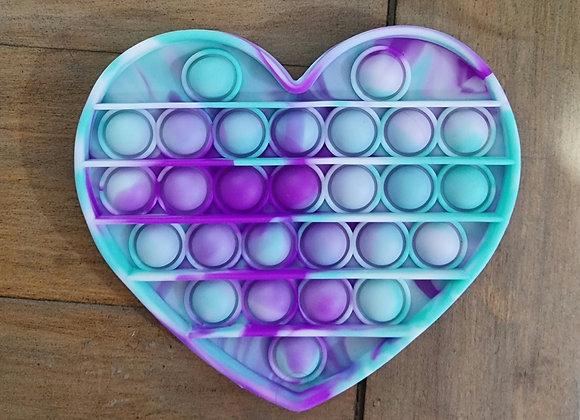 Heart pop fidget