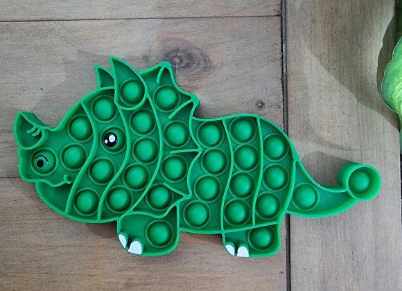 Dino pop fidget