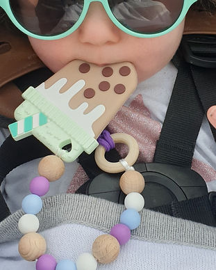 Milkshake teether