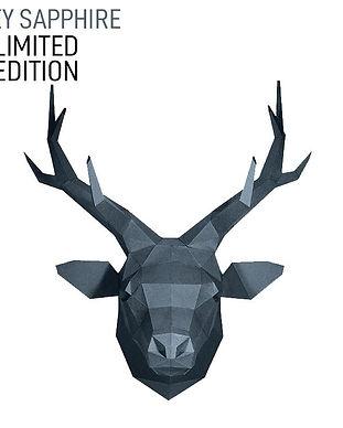 paper-craft-deer-head-grey-special-editi