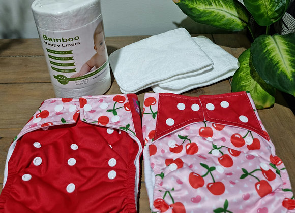 Cloth nappy tester pack