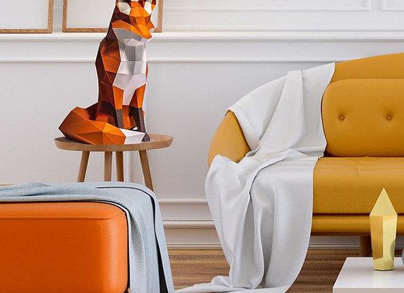 Origami Orange Fox