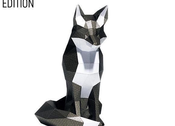 Origami Black Fox