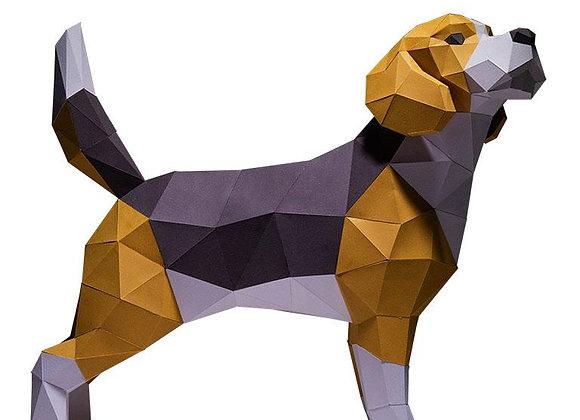 Origami Beagle