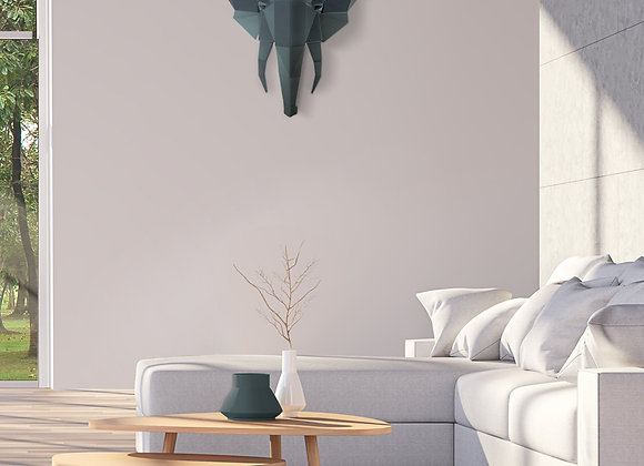 Origami Elephant wall art