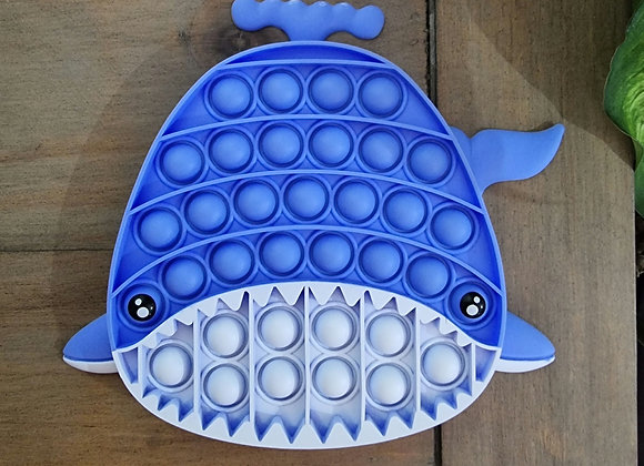 Whale pop fidget
