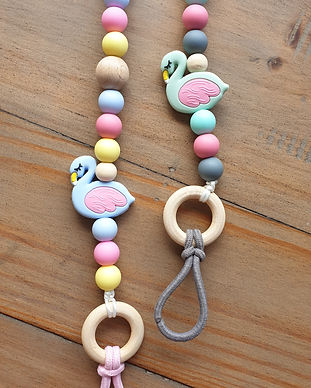 Soother / pacifier clips