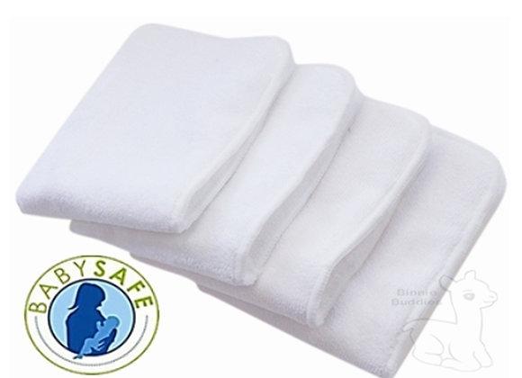 Binnie Baby cloth nappy inserts (4 pack)