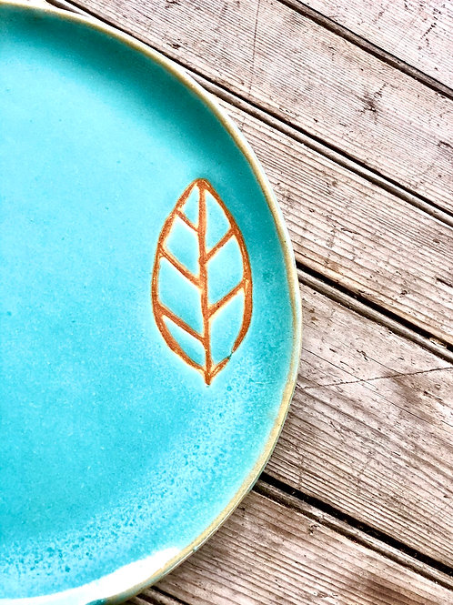 Little Leaf Luncheon plate