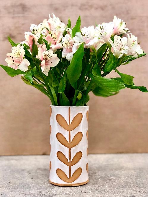 White Sprout Vase