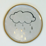 Silver Lining plate