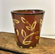 22k gold leaves cup
