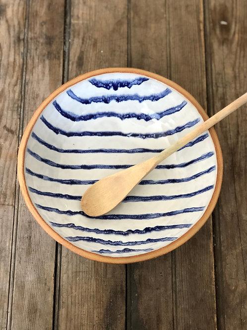 Ticking serving bowl