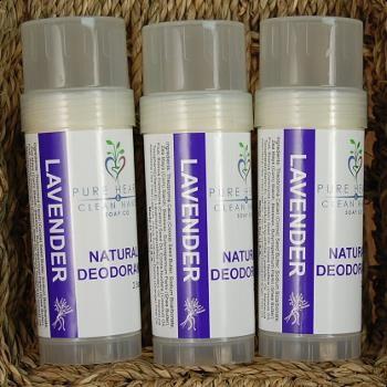 Natural Lavender Deodorant