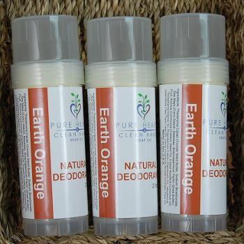 Natural Earth Orange Deodorant