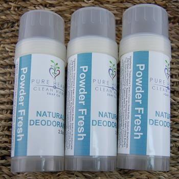 Powder Fresh Natural Deodorant