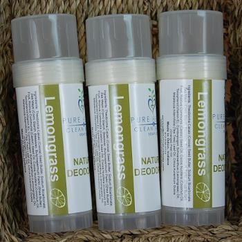 Natural Lemongrass Deodorant