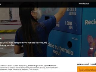 Ecobot llega a Costa Rica para promover hábitos de consumo más sostenibles y reciclaje