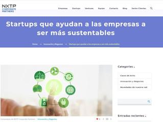 Startups que ayudan a las empresas a ser más sustentables