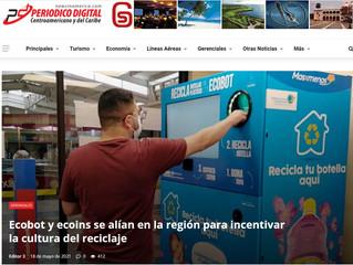 Ecobot y ecoins se alían en la región para incentivar la cultura del reciclaje