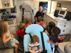 Exploring an Ambulance!