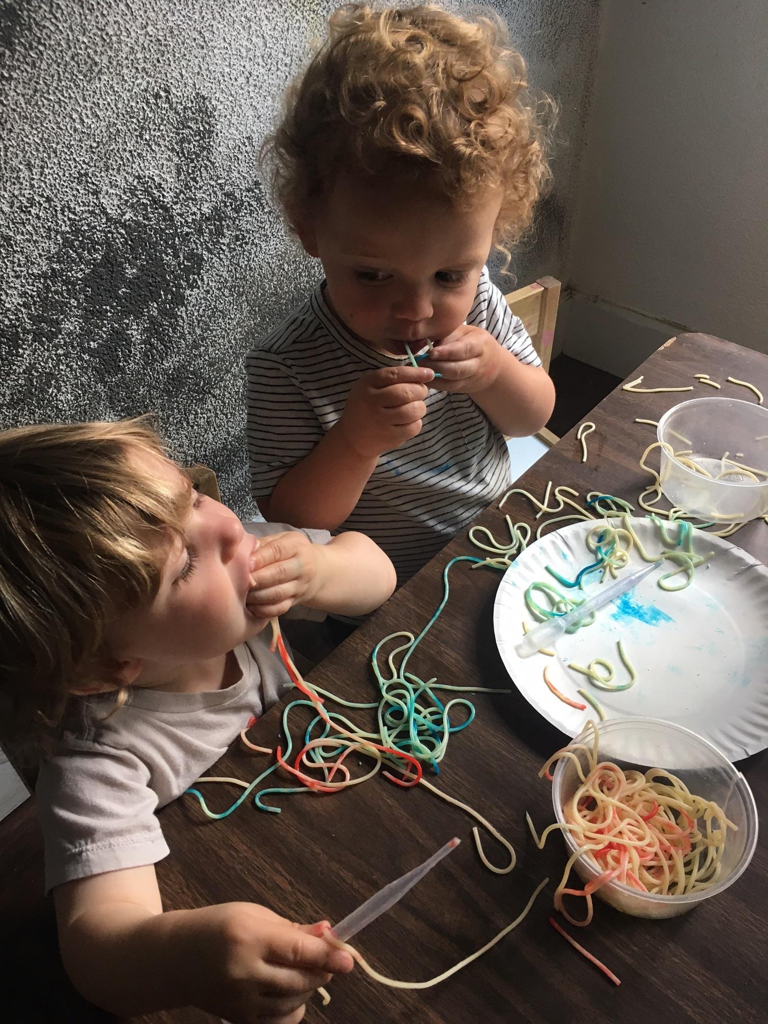Spaghetti Worms
