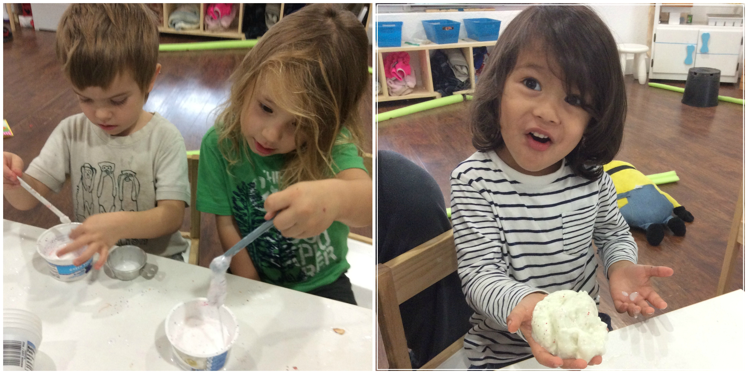 We made Slime!