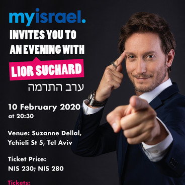 An Evening with Lior Suchard