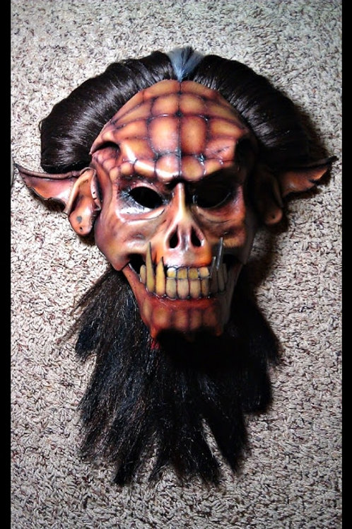 Leather Orc Mask (Red) -=SOLD=-