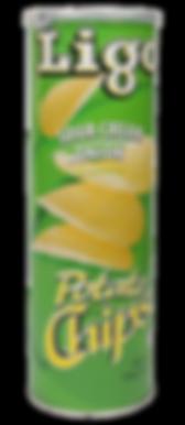 Potato Chips Sour Cream & Onion Flavour\