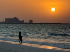 Abu Dhabi - Sonnenuntergang