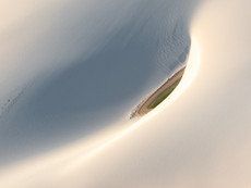 lençóis maranhenses - lagune aus der Luft
