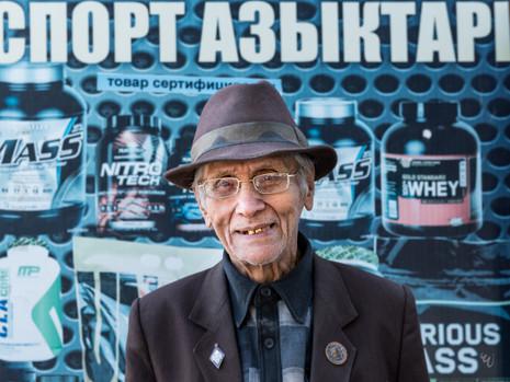 Kirgistan - Begegnung in Osch