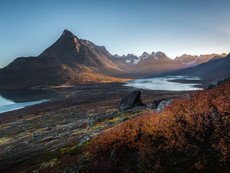 Tasermiut Fjord Sonnenaufgang