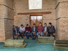 Usbekistan - beten mit dem Imam